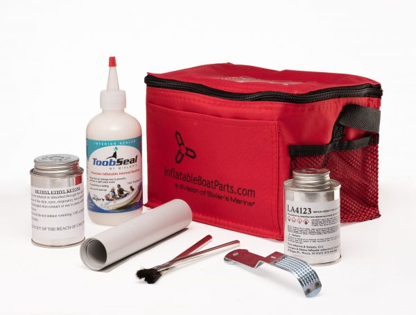 Inflatable Boat Repair Kit, PVC, Small, Available in 7 Colors