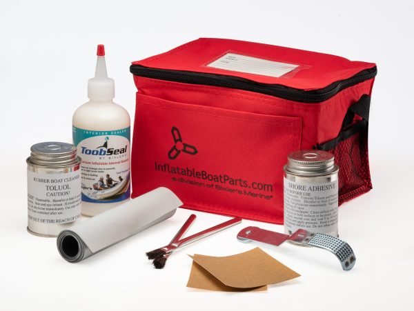 Inflatable Boat Repair Kit, Hypalon, Small, Available in 7 Colors