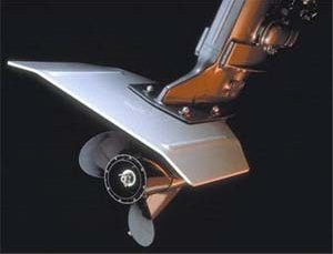 Outboard Motor Hydrofoil Stabilizers