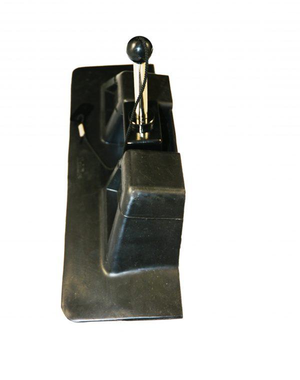 Achilles Glue Down Oarlock, F-Type F6, each End View