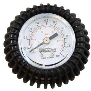 Bravo Adjustable Pressure Gauge for Push Push and Halkey Roberts Valve