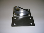Thru Hull Tow Pad Eye with Backing Plate - Stainless Steel