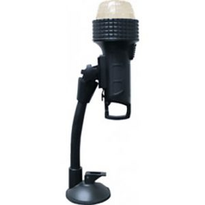 Shown with Suction Mount Attachment - included