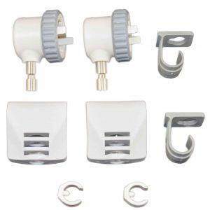 Zodiac Oarlock Upgrade Kit - Stainless Steel Pins. Pair (Part #ZDC67506)