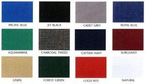 Sunbrella Color Chart
