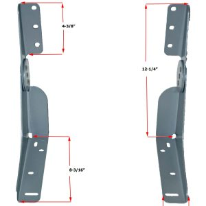 Fold Down Seat Hinge for Folding Boat Seat, Patent #5956810.