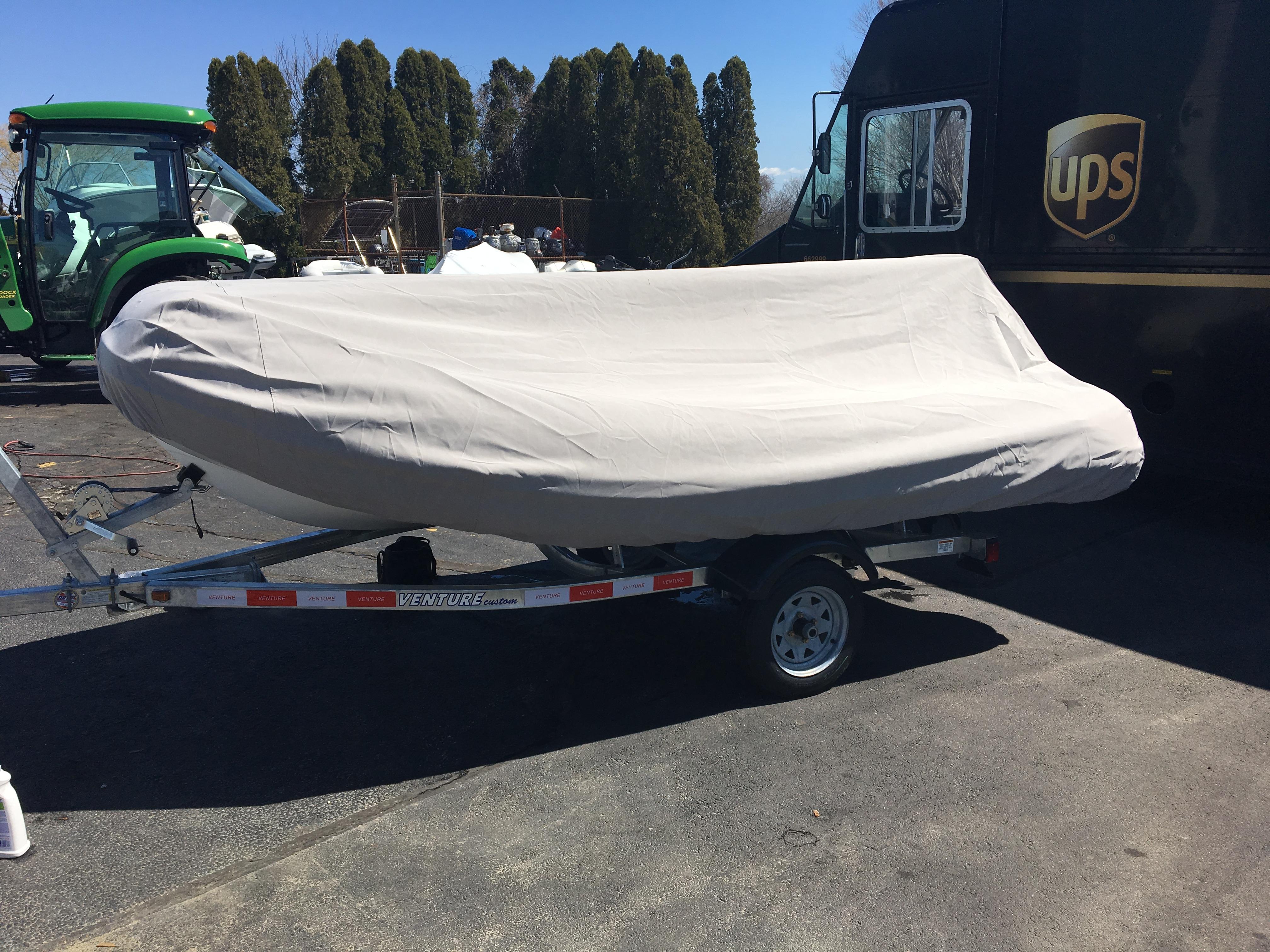 AB Inflatable Boat Cover Open Dinghy 8 VS, VL, UL & AL (260VS) Model -  Sunbrella Fabric